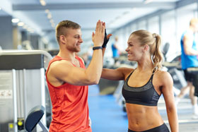 Fitnesscenter mit Coaching